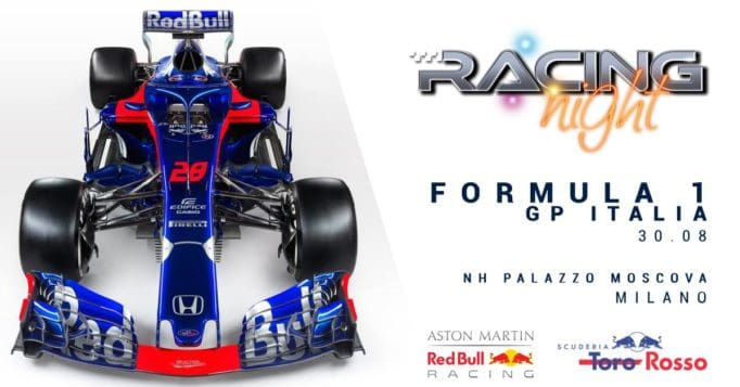 redbull racing night formula 1 festival milano