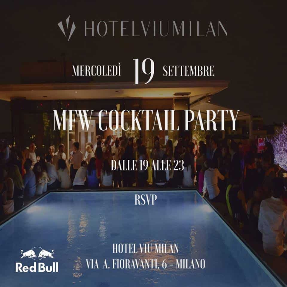 viu hotel milan mfw cocktail party