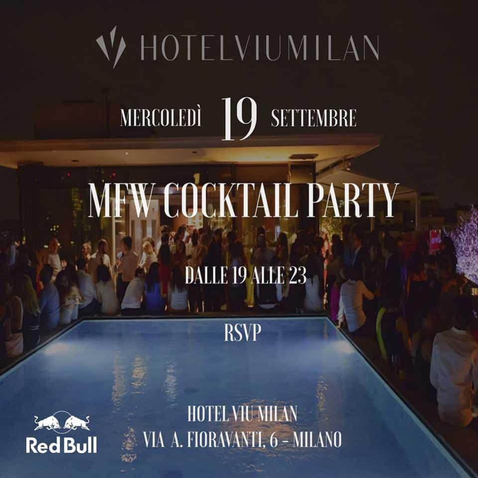 viu hotel milan mfw cocktail party