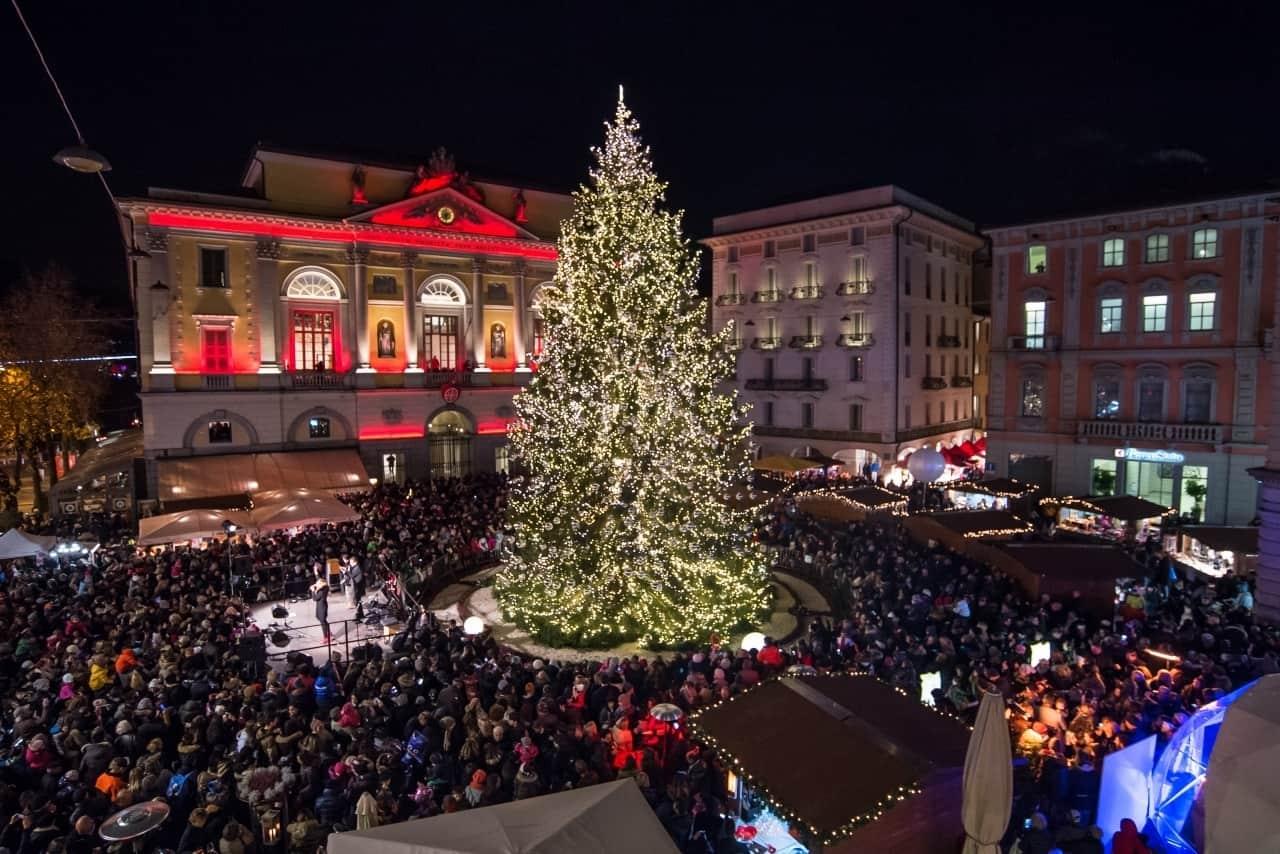 Lugano Natale.Lugano Villaggio E Mercatini Di Natale Dal 1 Dicembre In