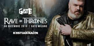 Rave of thrones milano 2018