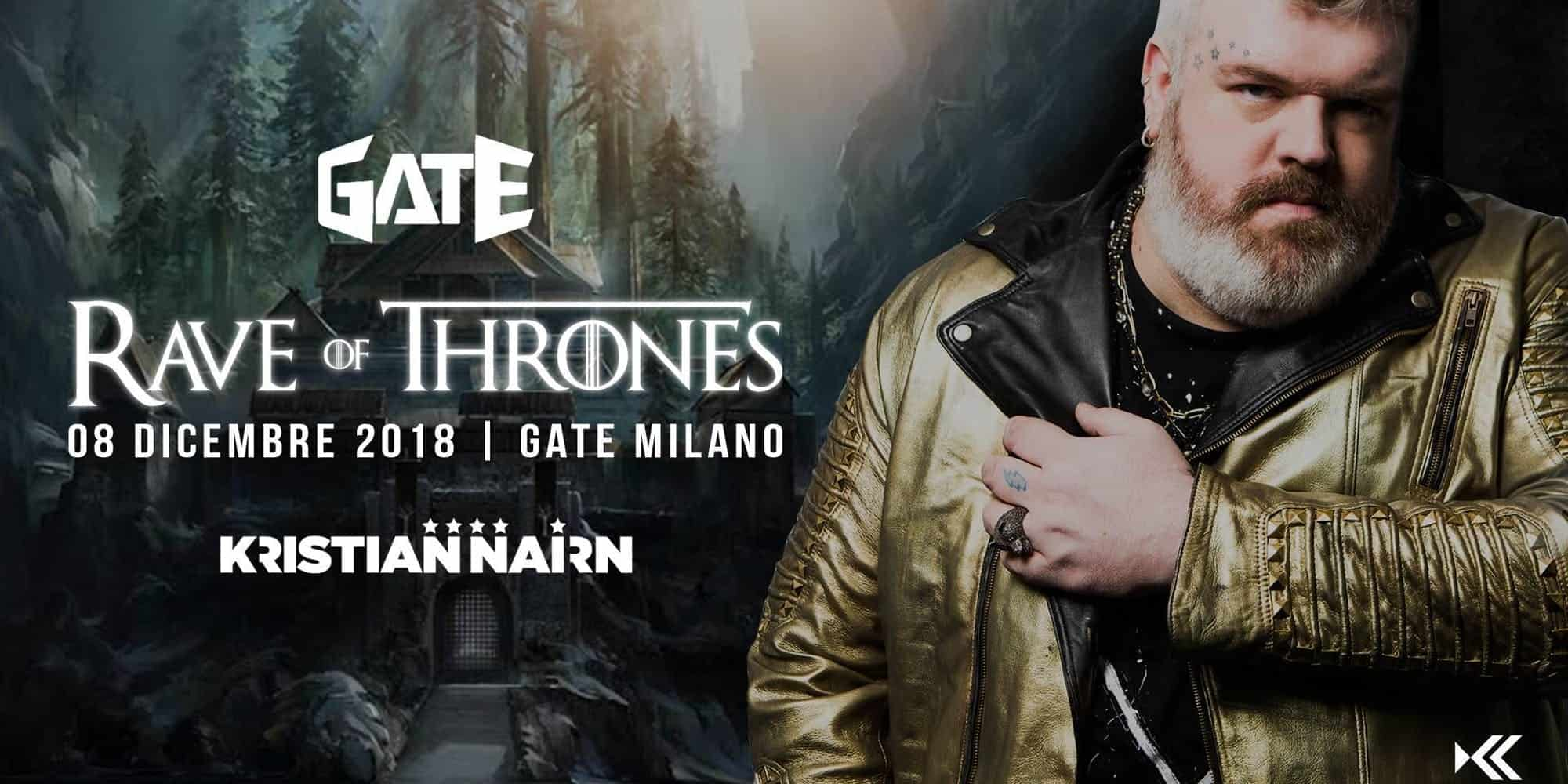 Rave of thrones milano