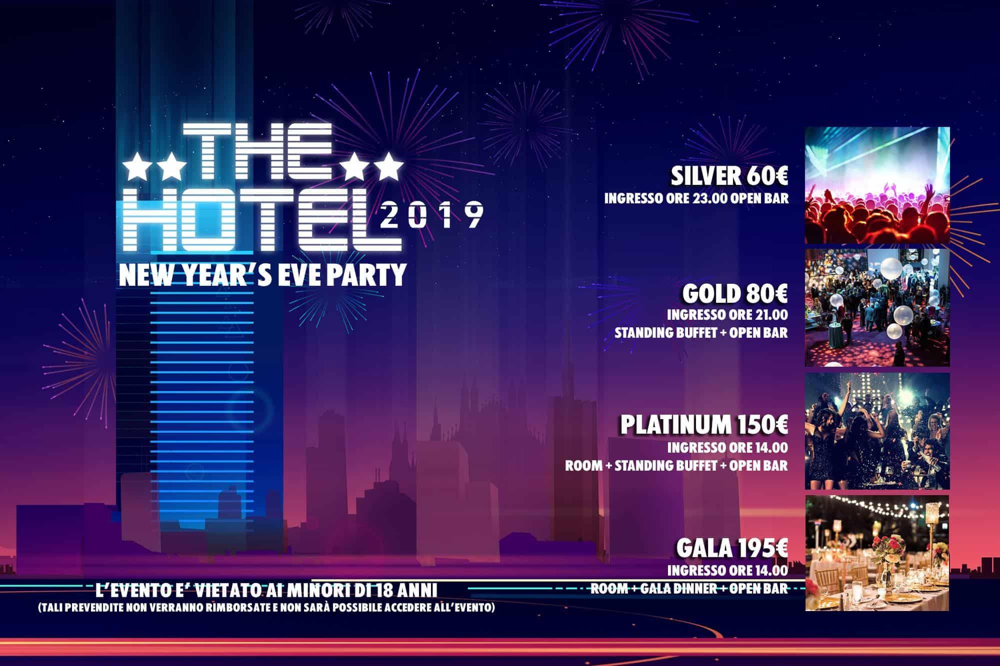 capodanno milano the hotel 2019