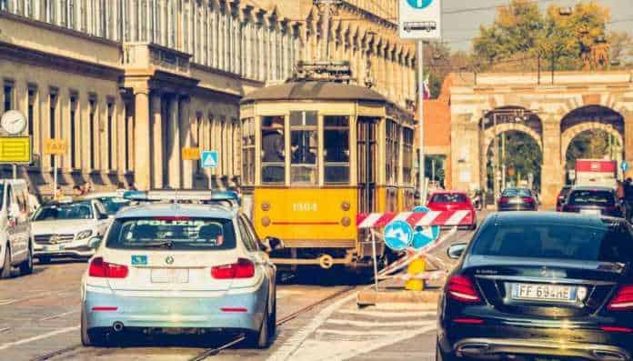 traffico sospesa AREA B