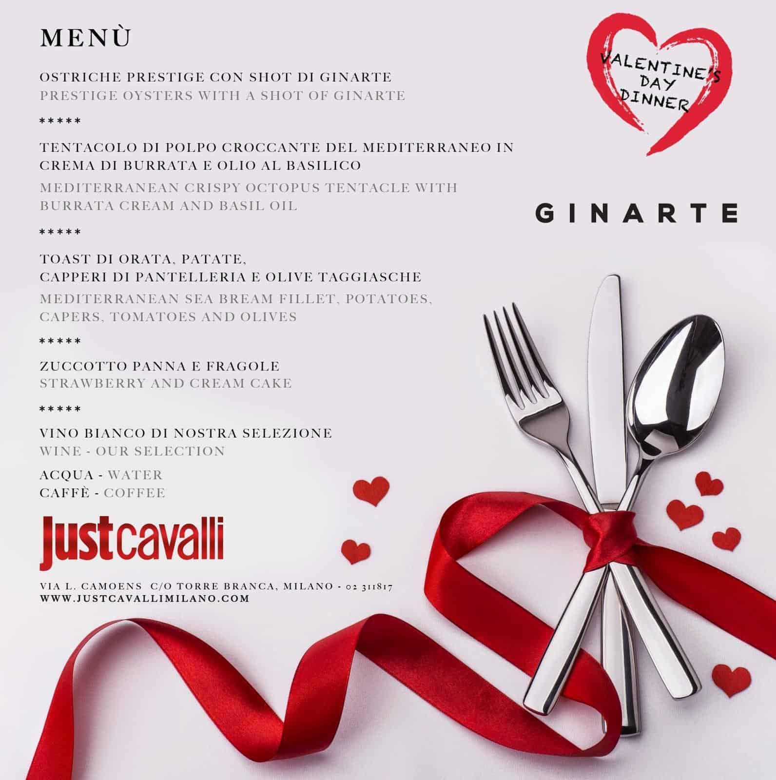 San Valentino cena milano