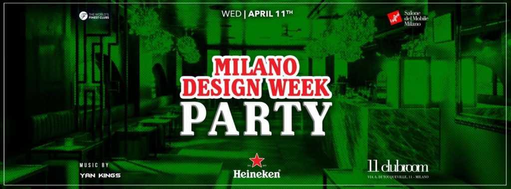Heineken Party FUORISALONE 2019