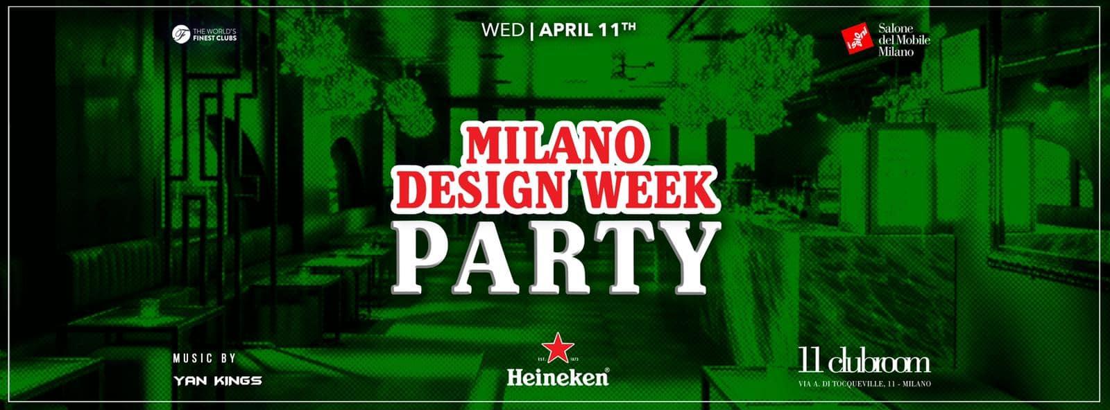 HEINEKEN DESIGN WEEK PARTY