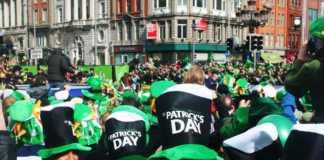 jameson irish St. Patrick milano