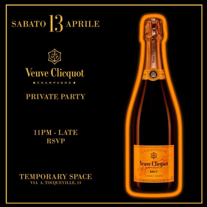 fuorisalone veuve clicquot private party