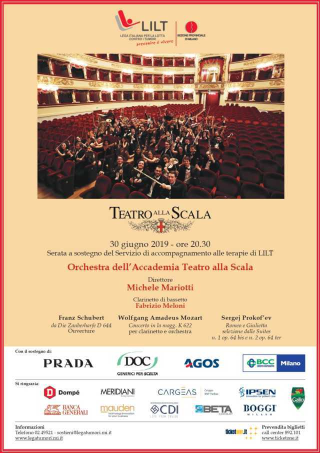 Milano Scala Locandina Concerto e