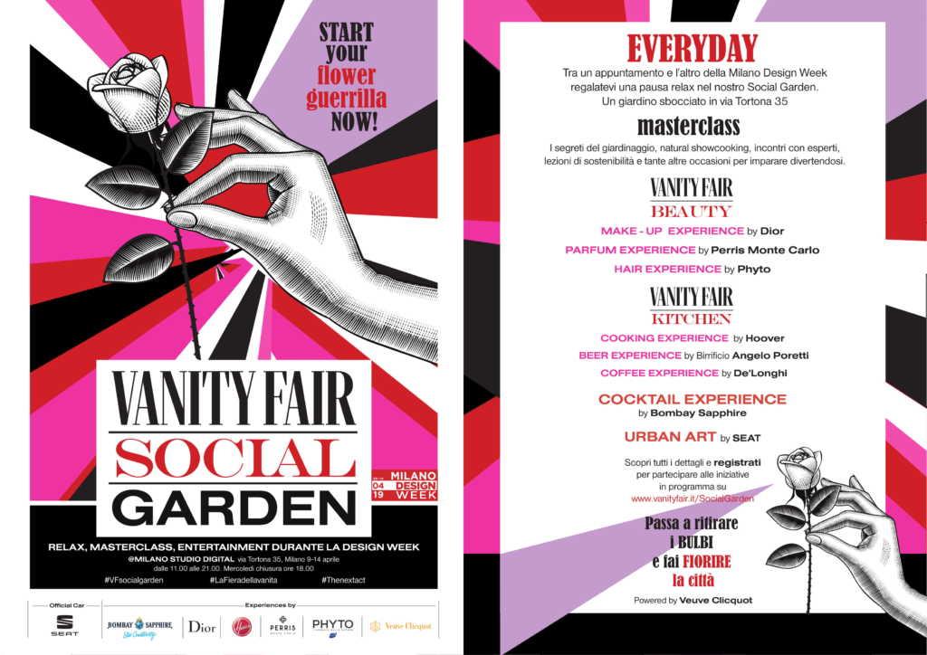 Vanity Fair Social Garden fuorisalone