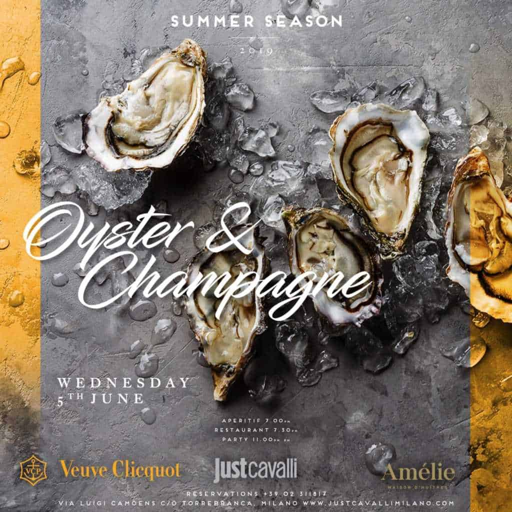 torre branca ostriche champagne veuve cliquot