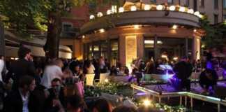 hotel sheraton garden cocktail party