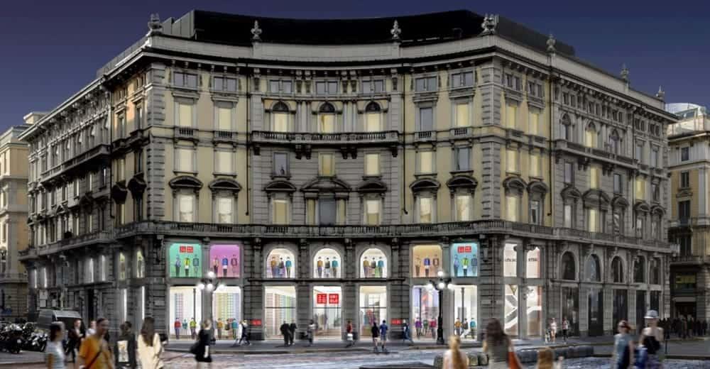 hot sales fb4dd 2e5f7 UNIQLO Milano: Venerdì 13 Inaugurazione del primo negozio in ...