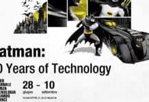 BATMAN: 80 YEARS OF TECHNOLOGY batman milano
