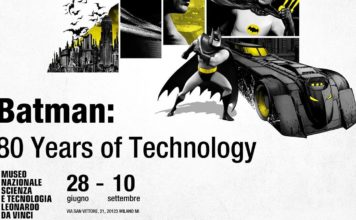 BATMAN: 80 YEARS OF TECHNOLOGY batman milano