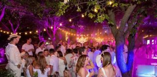 WHITE PARTY and Garden Aperitif