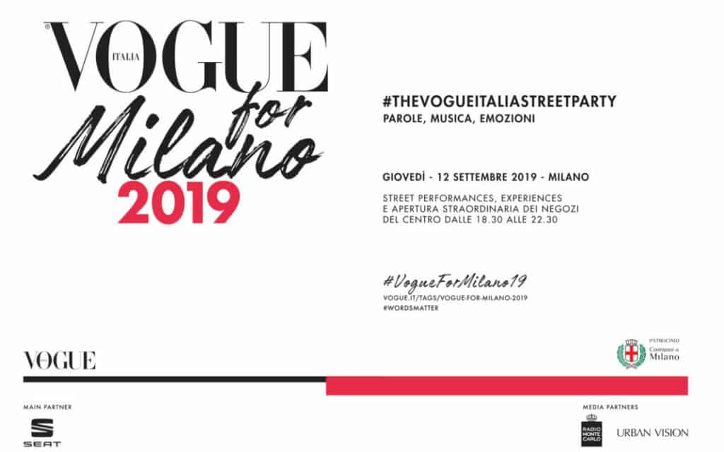 vogue for milano 2019