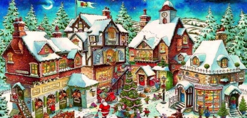 Villaggio Natale.Villaggio Di Natale Apre A Milano Il Piu Grande Parco A