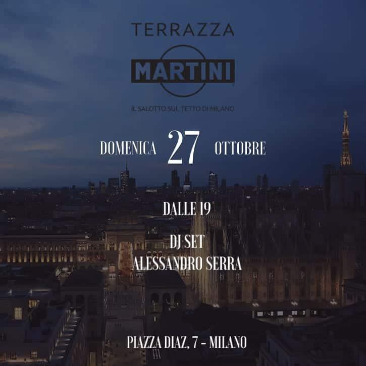 terrazza martini milano party