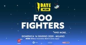 FOO FIGHTERS milano biglietti