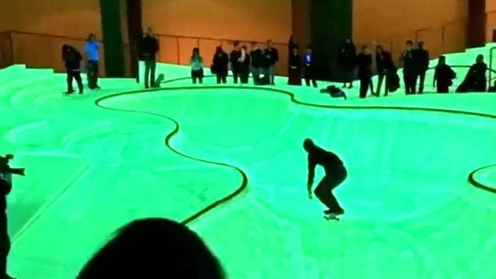 SKATEPARK: alla Triennale una pista multisensoriale e fosforescente, ingresso gratuito