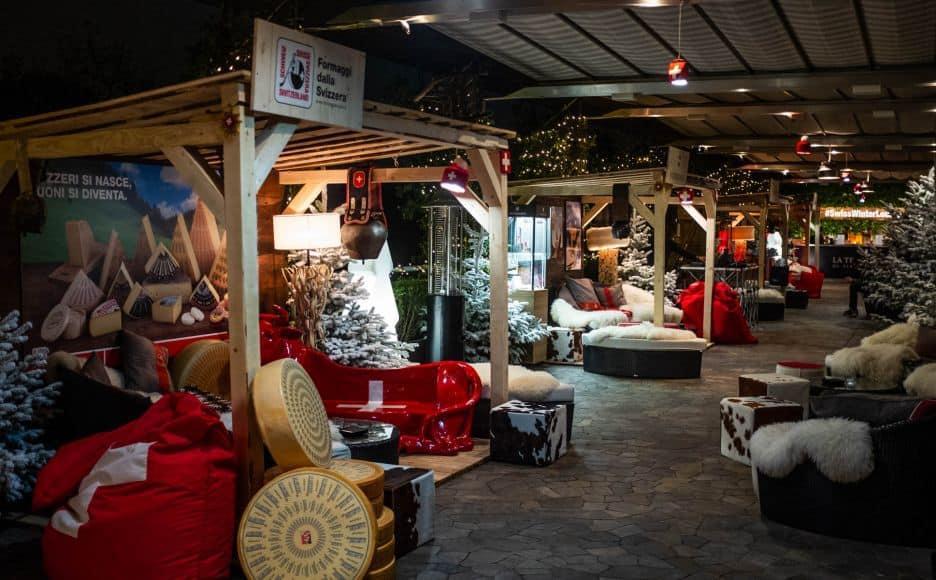Swiss Winter Lounge Terrazza Palestro Si Trasforma In Una