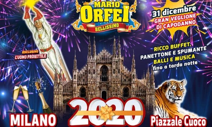 capodanno 2020 circo orfei