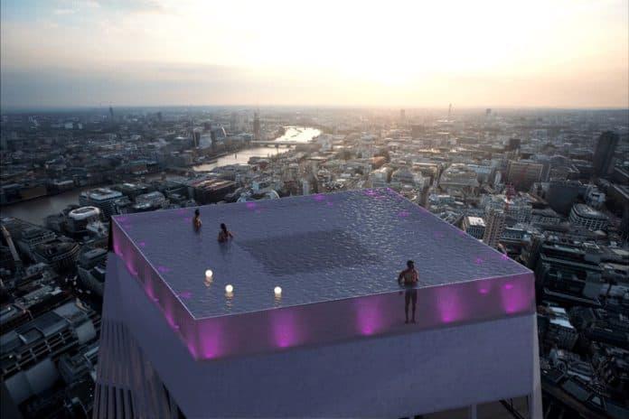 infinity london pool