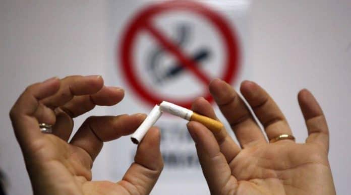 divieto di fumare