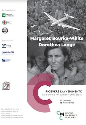 Margaret Bourke-White e Dorothea Lange