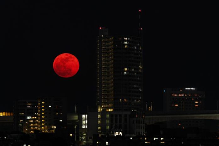 eclissi lunare 2020