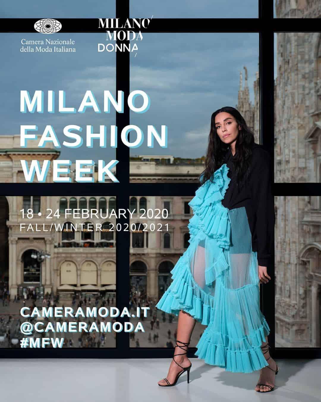 Camera Moda Calendario Febbraio 2021 MILANO FASHION WEEK: Calendario Sfilate Moda Donna 18 24 febbraio 2020