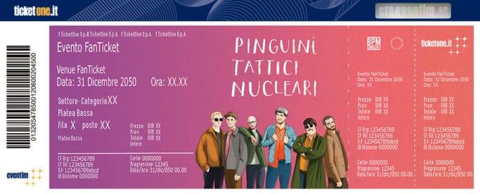 pinguini tattici nucleari concerto biglietti