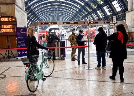 trasporti stazione centrale TRENI SUD CORONAVIRUS