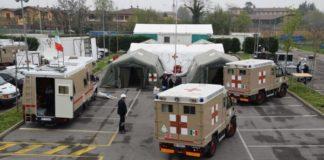 ospedale da campo coronavirus bergamo alpini