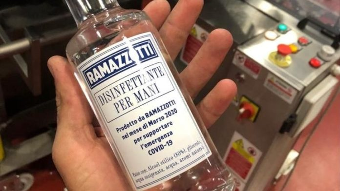ramazzotti produzione gel
