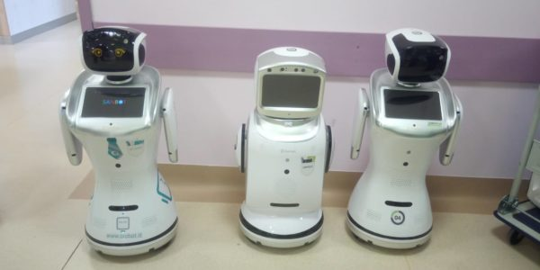 robot-medici coronavirus ospedali