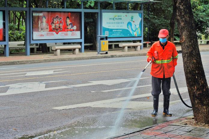 sala chiusura parchi sanificazione strade milano