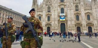 ufficiale milano esercito prefettura coronavirus