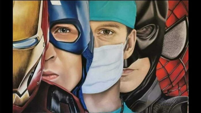 infermiere supereroe