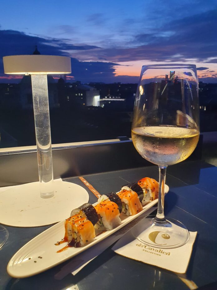 terrazza the roof milano sushi