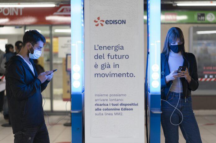 EDISON INSTALLA COLONNINE DI RICARICA NELLA METRO VERDE