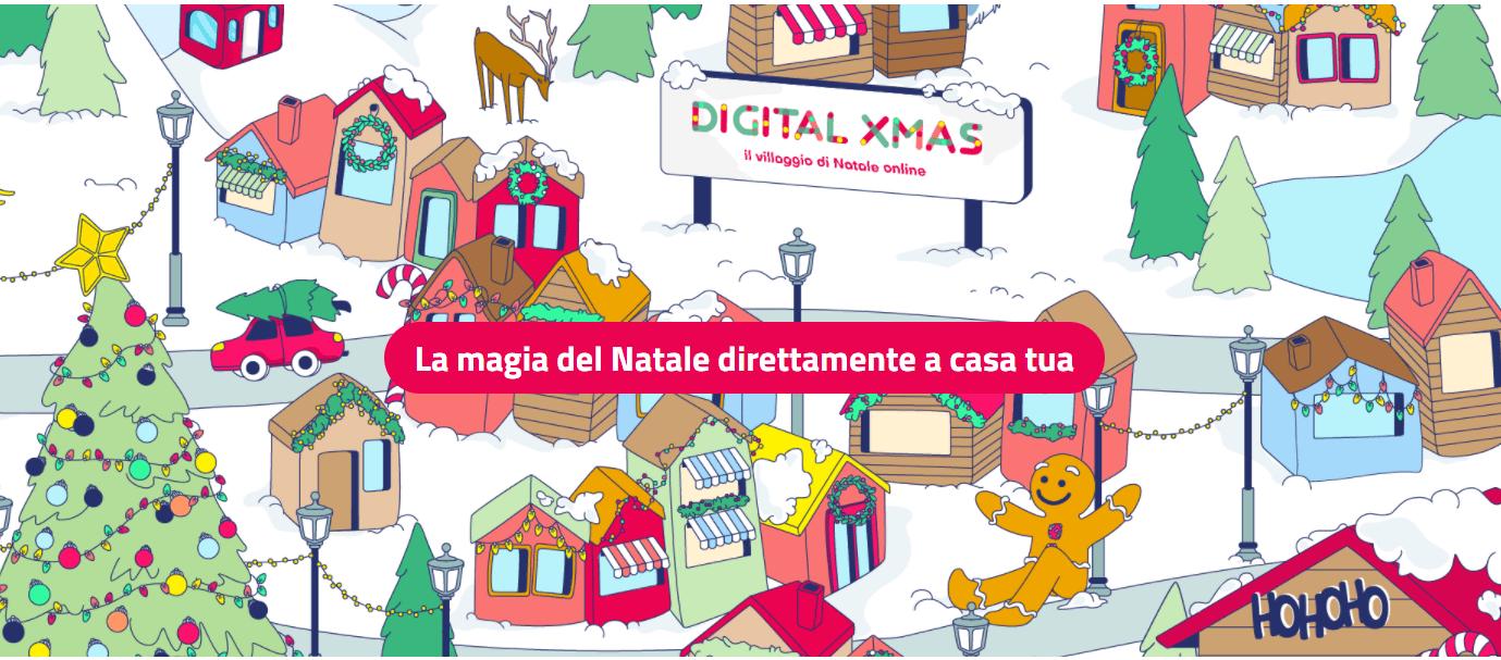 Villaggi Di Natale 2021.Digital Xmas Il Villaggio Di Natale Online La Magia Delle Feste Direttamente A Casa Tua