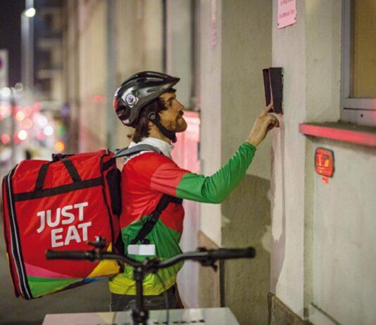 just eat lavoro dipendente Just Eat firmato accordo contrattoe rider