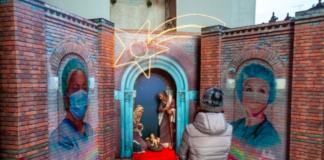 MILANO: sulla facciata di Santa Maria delle Grazie un omaggio al personale sanitario