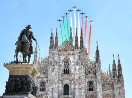 duomo frecce tricolori compleanno