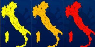 colori regioni 26 aprile covid