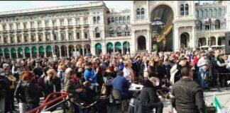 Risultato video per protesta duomo no vax ANTEPRIMA 0:51 Raduno di no Vax in piazza Duomo a Milano Il Giorno