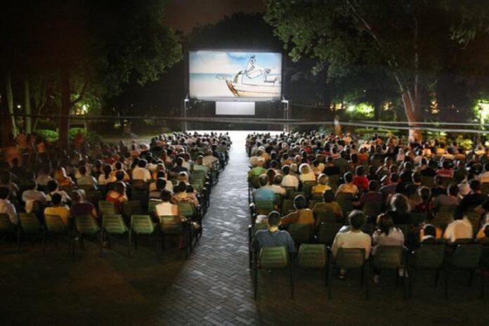 arianteo cinema all'aperto